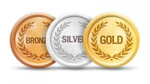 goldsilverbronze